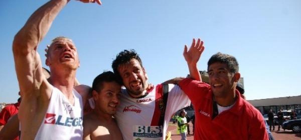 Sarno, tra Vastola e D'Aversa, dopo la vittoria di Trapani