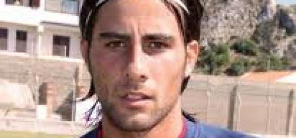 Andrea D'Amico con la maglia del Milazzo