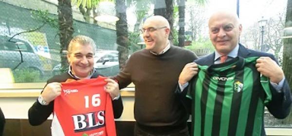 Bellia e Di Cosmo, insieme al sindaco Di Primio