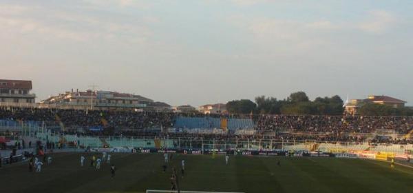 La curva biancazzurra abbandona lo stadio