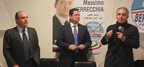 Filippo Piccone, Massimo Verrecchia e Gaetano Quagliariello