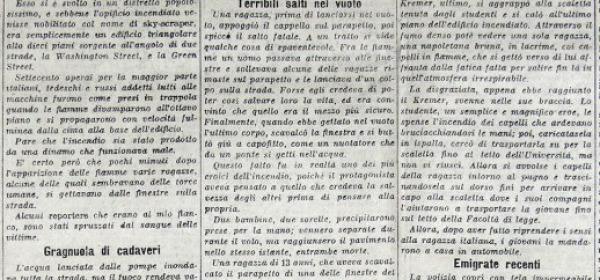 La pagine del Corriere della Sera