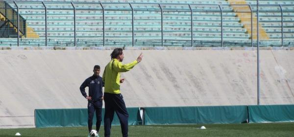 Gautieri dirige l'allenamento odierno