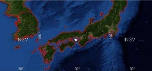 Scossa in Giappone Kobe