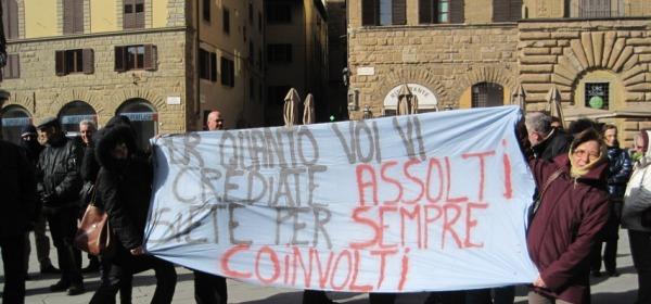 Protesta dipendenti comunali