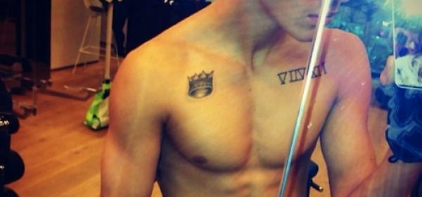 Justin Bieber seminudo