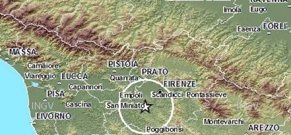 terremoto Firenze