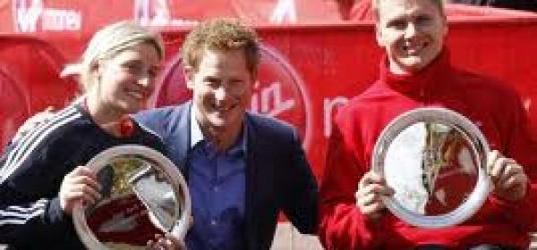 Harry alla Maratona di Londra