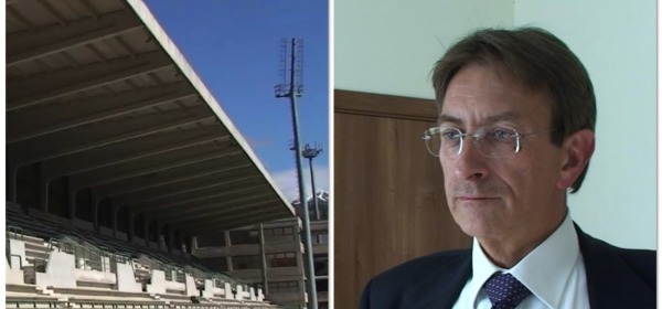 Massimo Cialente Stadio Acquasanta