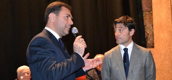 La premiazione di Vincenzo Montella nel 2012