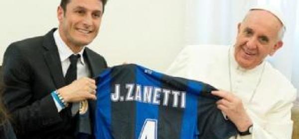 Papa Francesco, Javier Zanetti