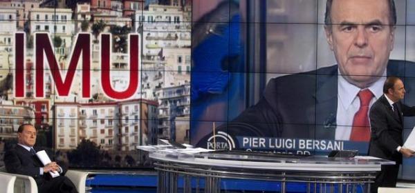 Taglio IMU Bersani e Berlusconi