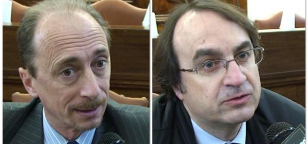 Giorgio De Matteis e Vincenzo Vittorini
