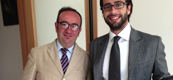 Carlo Benedetti e Loreto Colageo
