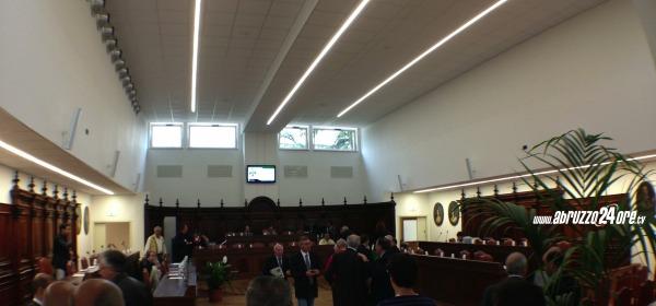 Consiglio comunale L'Aquila