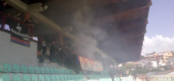I tifosi al Fattori (foto Petrocco)