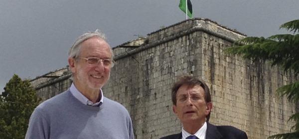 Renzo Piano e Massimo Cialente