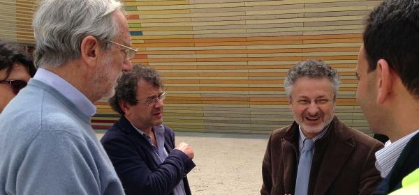 Renzo Piano e Alfredo Moroni