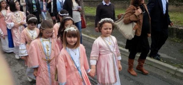 La processione delle Verginelle a Rapino (Ch) - foto Rocco Micucci