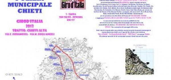 Mappa Giro d'Italia Chieti