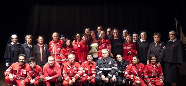 La Croce Rossa di Teramo con Valetina Persia