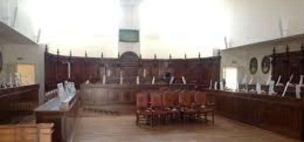 Sala Consiglio comunale L'Aquila