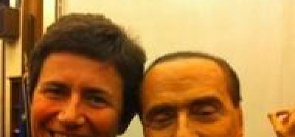 Federica Chiavaroli e Silvio Berlusconi