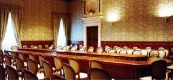 La sala della Conferenza Stato Regioni