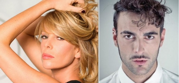 Alessia Marcuzzi e Marco Mengoni