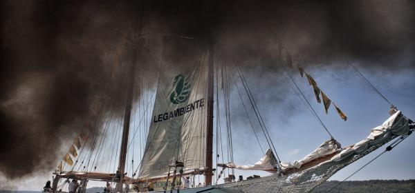 Il blitz di Goletta Verde - foto di Lorenzo Bernardini