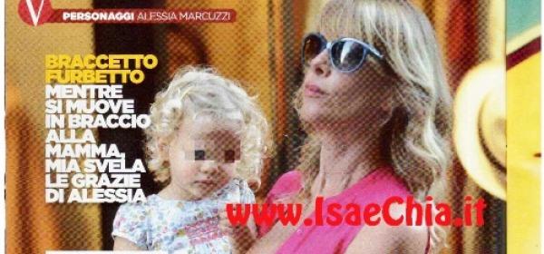Alessia Marcuzzi da Vip