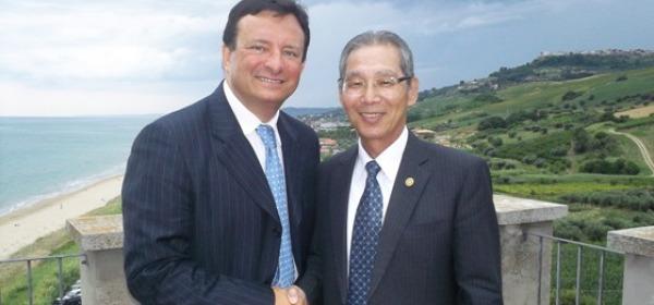 Ambasciatore di Taiwan e il presidente AMP