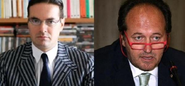 Klaus Davi e Luigi De Fanis