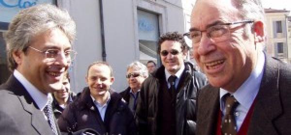 Gianni Chiodi e Ottaviano Del Turco