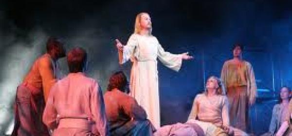 Un momento del musical  Jesus Christ Superstar