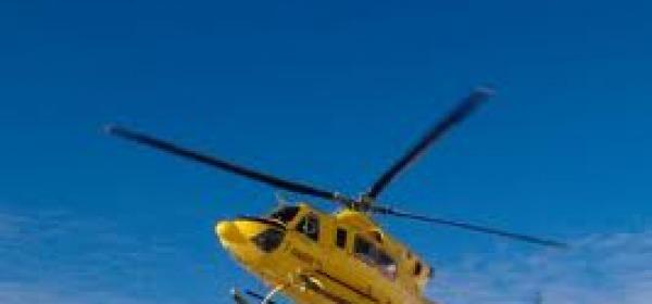 Elicottero del 118 (immagine di repertorio)