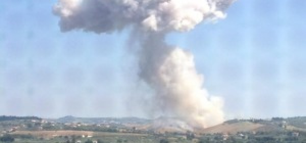 L'esplosione a Villa Cipressi