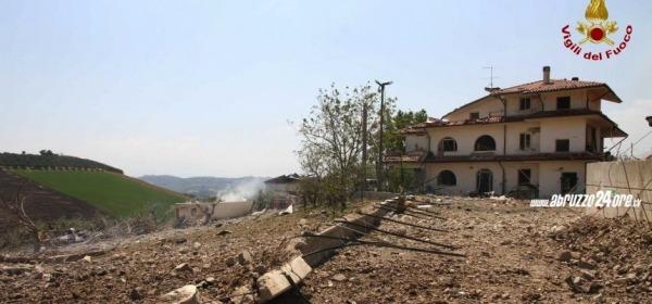 Esplosione a Città Sant'Angelo