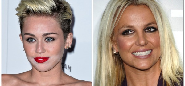 Miley Cyrus - Britney Spears