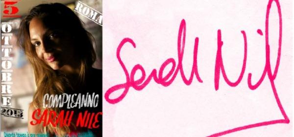 compleanno evento Sarah Nile