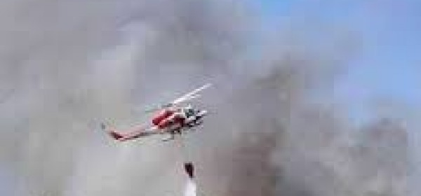 Elicottero spengnimento incendio