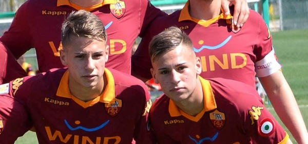I gemelli Ricci, Federico a sinistra, Matteo a destro