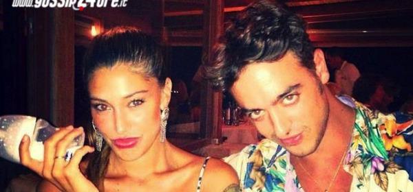 Belen Rodriguez e Fabrizio Fiorani