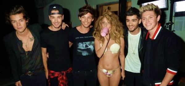 Lady Gaga e gli One Direction
