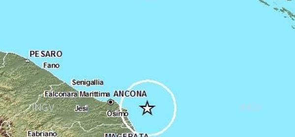 Mappa sismica distretto Ancona