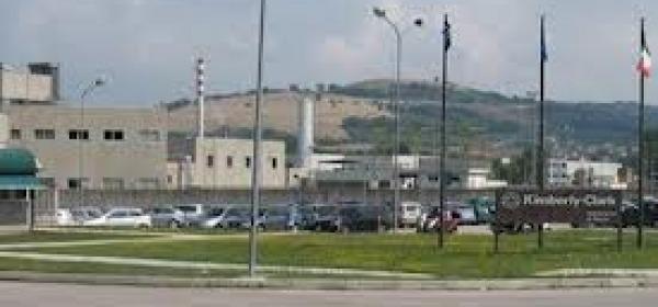 L'ormai ex stabilimento Kimberly di Alanno