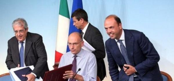 La conferenza stmpa di ieri a Roma sull'Imu