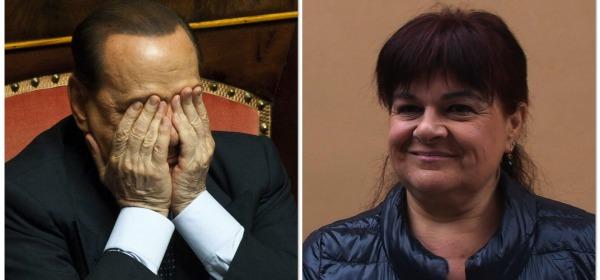 Silvio Berlusconi - Stefania Pezzopane