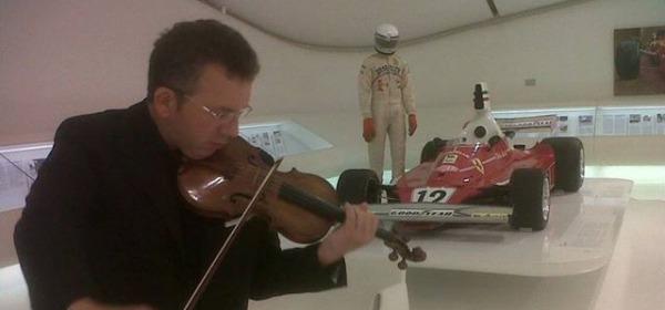 Ettore Pellegrino al Salone Enzo Ferrari