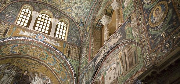 la basilica di San Vitale a Ravenna